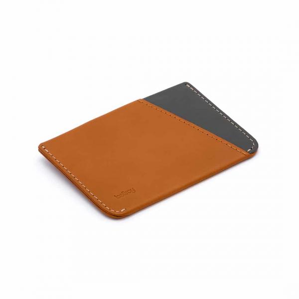 Bellroy Micro Sleeve Cardholder Caramel