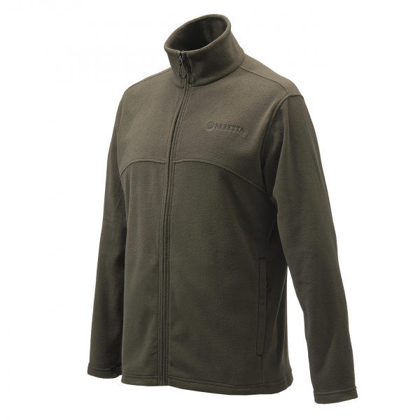 Beretta Full Zip Fleece Chocolate