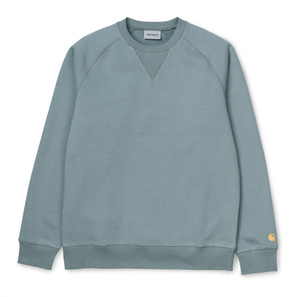 Carhartt Chase Sweat Cloudy / Gold