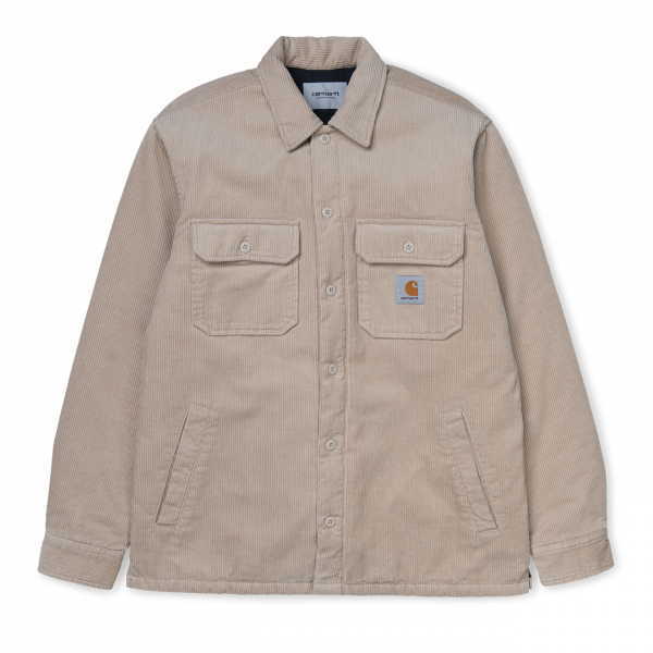 Carhartt Whitsome Cord Overshirt Cotton Wall