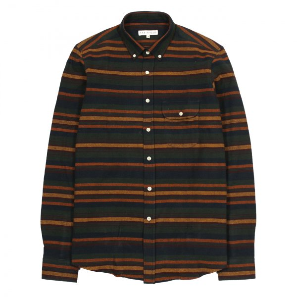 Far Afield Larry Flannel Shirt Bjorn Stripe