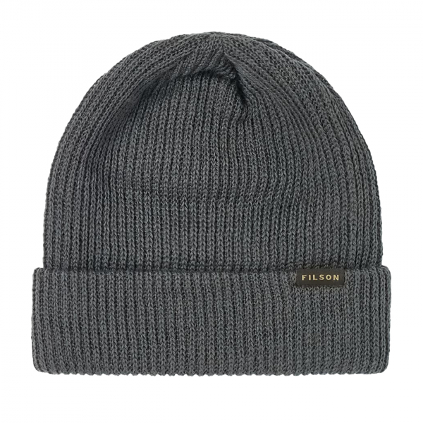 Filson Watch Cap Knitted Hat Charcoal