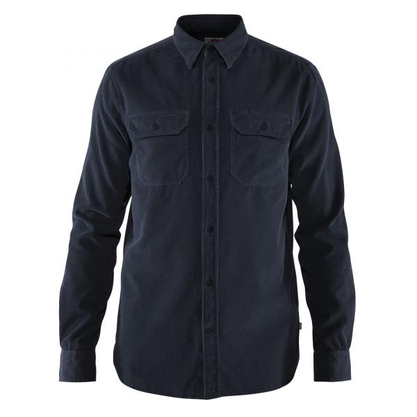 Fjallraven Ovik Cord Shirt Dark Navy