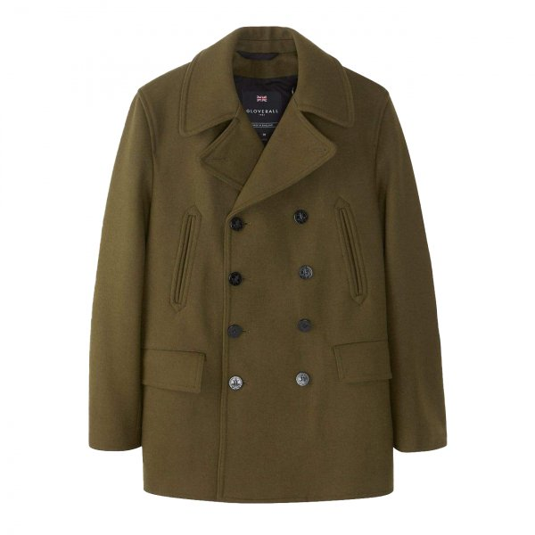 Gloverall Churchill Peacoat Loden