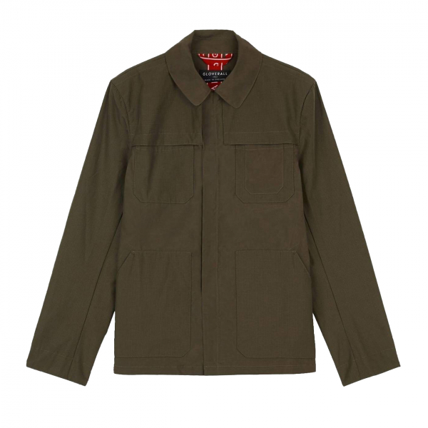 Gloverall Fred Field Jacket Khaki