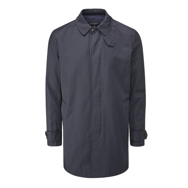 Gloverall Mansell Mac / Car Coat Navy