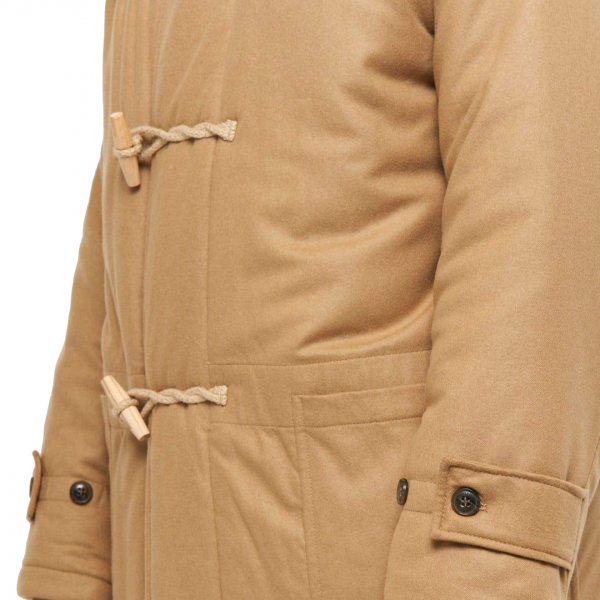 Gloverall Portsmouth Padded Duffle Coat Camel