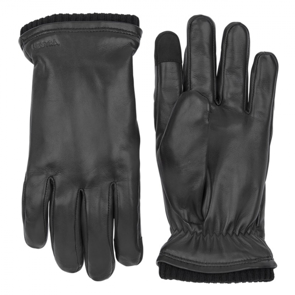 Hestra John Gloves Black