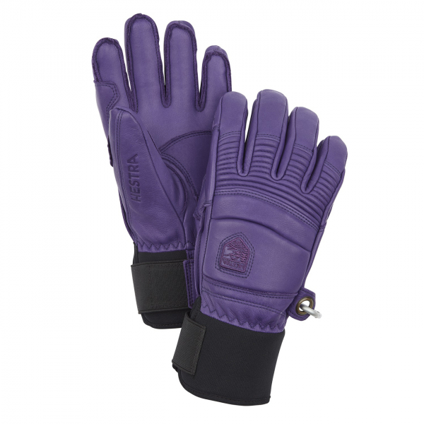 Hestra Leather Fall Line Glove Plum