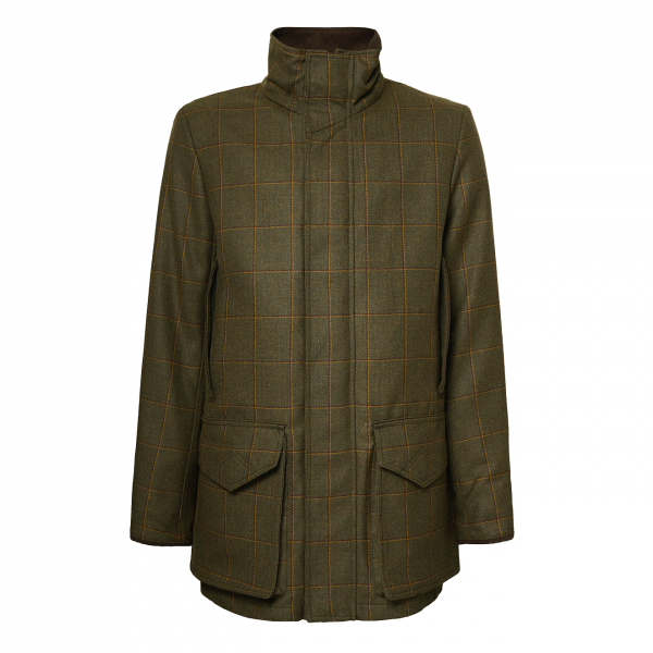 James Purdey Technical Tweed Field Coat Lawrence