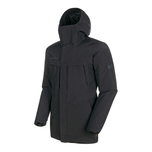 Mammut Chamuera HS Thermo Hooded Parka Jacket Black