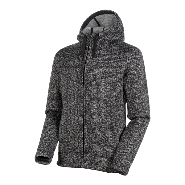 Mammut Chamuera Midlayer Hooded Jacket Black