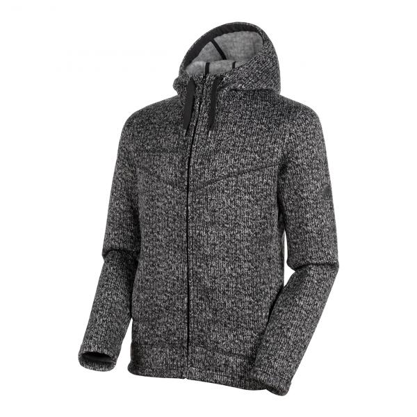 Mammut Chamuera Midlayer Hooded Jacket Black