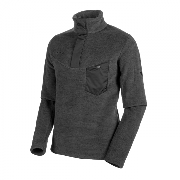 Mammut Innominata Midlayer Half Zip Fleece Black Melange