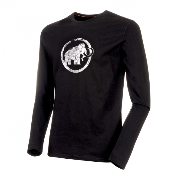 Mammut Logo Longsleeve T-Shirt Black