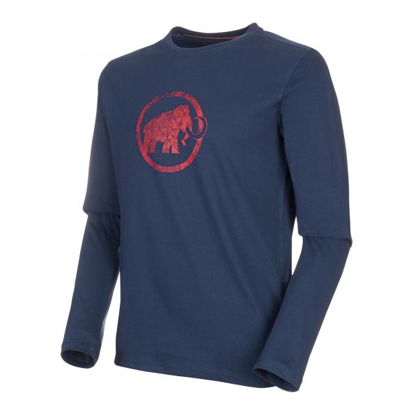 Mammut Logo Longsleeve T-Shirt Peacoat