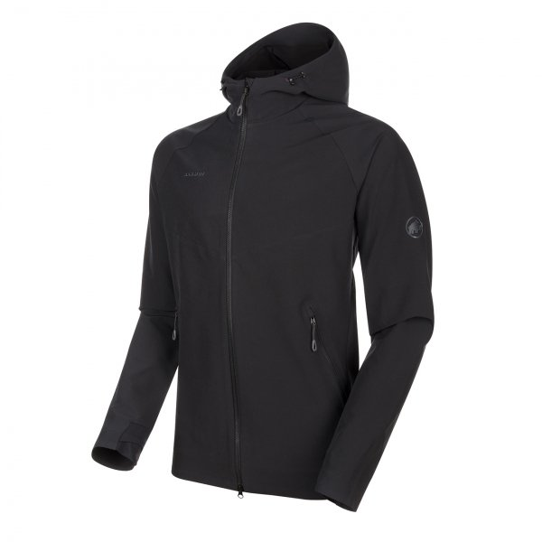 Mammut Macun Softshell Hooded Jacket Black