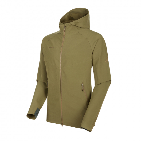 Mammut Macun Softshell Hooded Jacket Olive