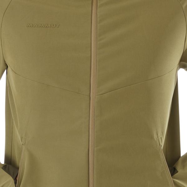 Mammut Macun Softshell Hooded Jacket Olive