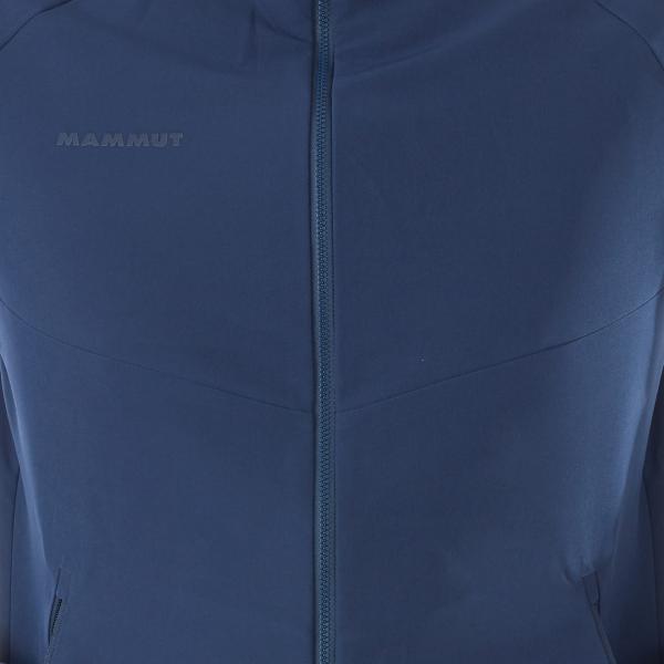 Mammut Macun Softshell Hooded Jacket Peacoat