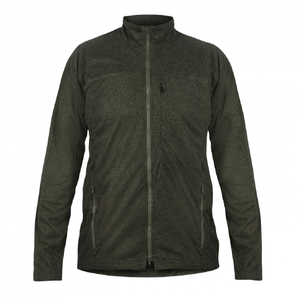 Mens Bentu Fleece Jacket Moss