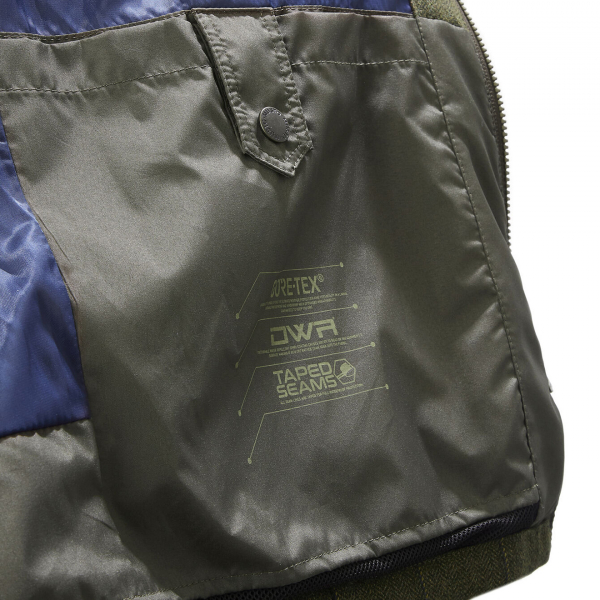 Musto Light Machine Washable Gore-Tex Tweed Jacket Balmoral