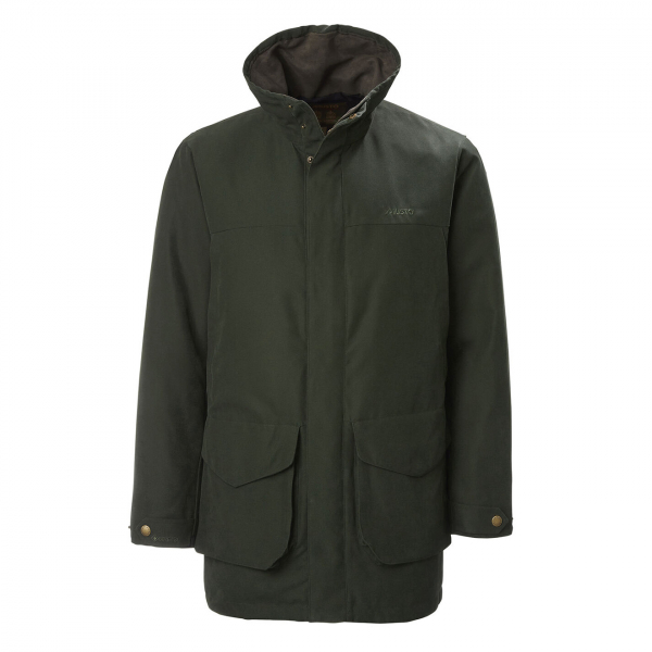 Musto Whisper Highland Gore-Tex Primaloft Jacket Dark Green