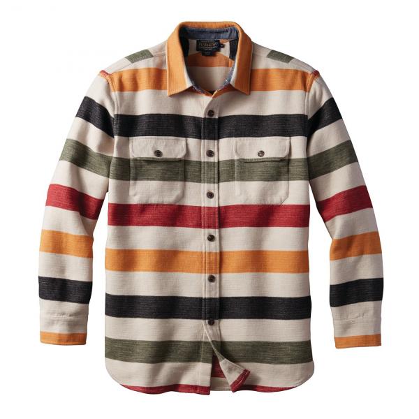 Pendleton Beach Shirt Glacier Stripe