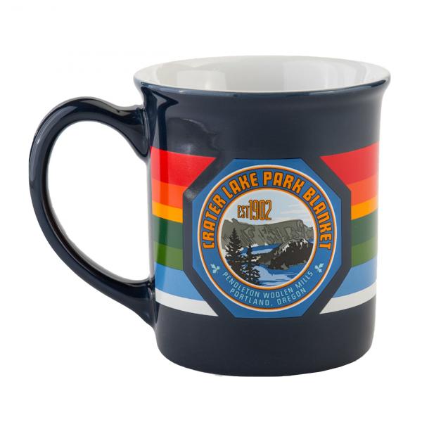 Pendleton National Park Mug Crater Lake Navy