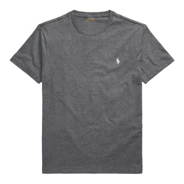 Polo Ralph Lauren Custom Slim Crewneck T-Shirt Grey
