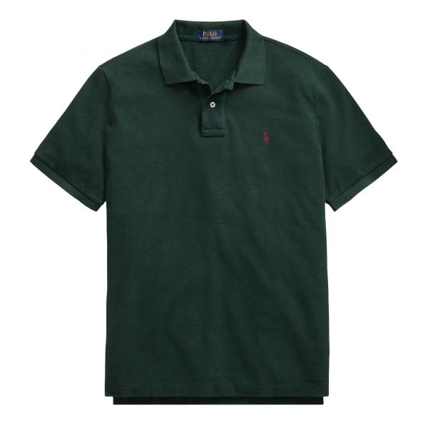 Polo Ralph Lauren Custom Slim Fit Classic Polo Green