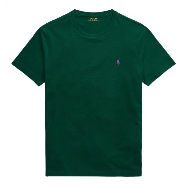 Polo Ralph Lauren Custom Slim Fit Cotton T-Shirt Green