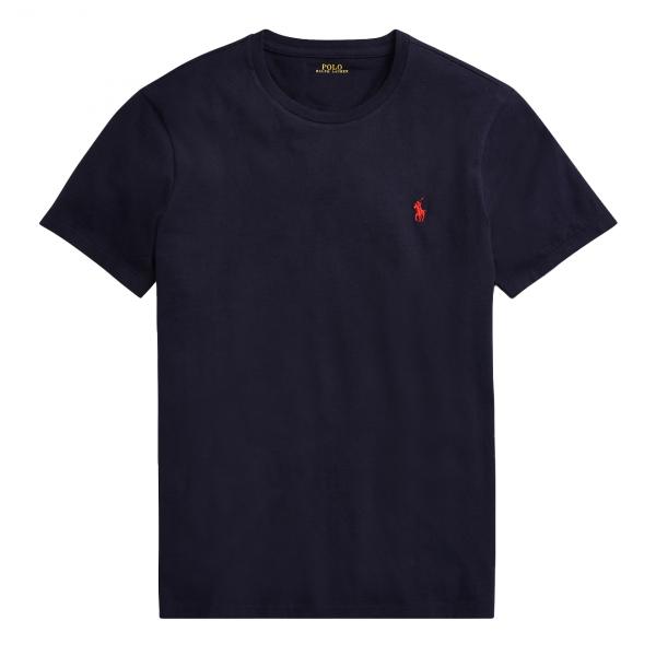 Polo Ralph Lauren Custom Slim Fit Cotton T-Shirt Ink