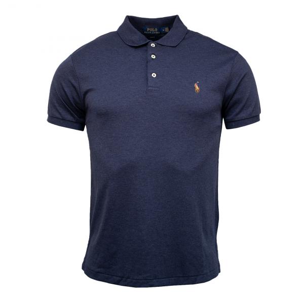Polo Ralph Lauren Pima Cotton Polo Shirt Spring Navy