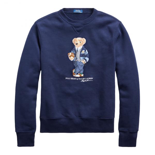 Polo Ralph Lauren Polo Bear Fleece Sweatshirt Navy