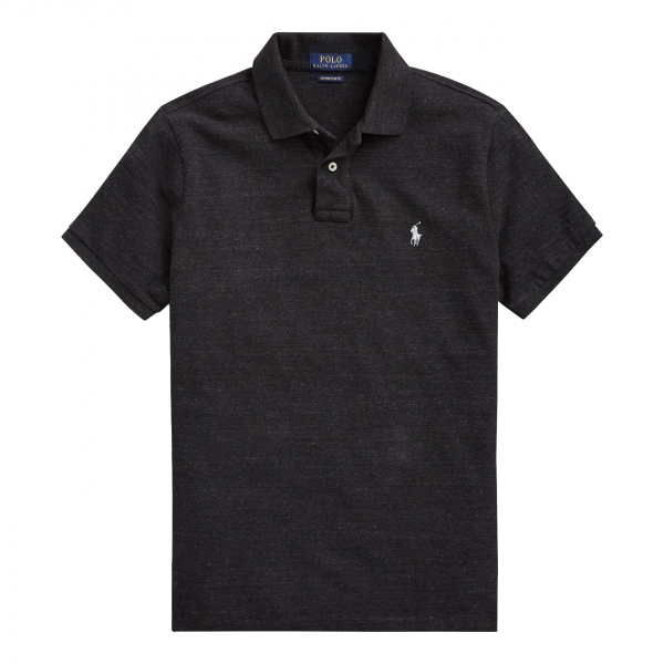 Polo Ralph Lauren Slim Fit Polo Shirt Black