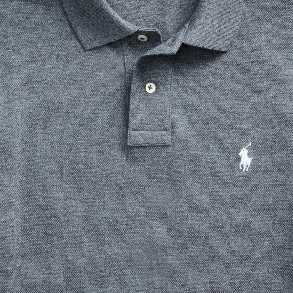 Polo Ralph Lauren Slim Fit Polo Shirt Grey