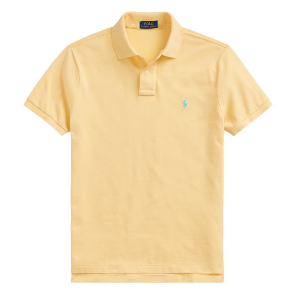 Polo Ralph Lauren Slim Fit Polo Yellow
