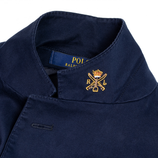 Polo Ralph Lauren Stretch Cotton Chino Jacket Blue