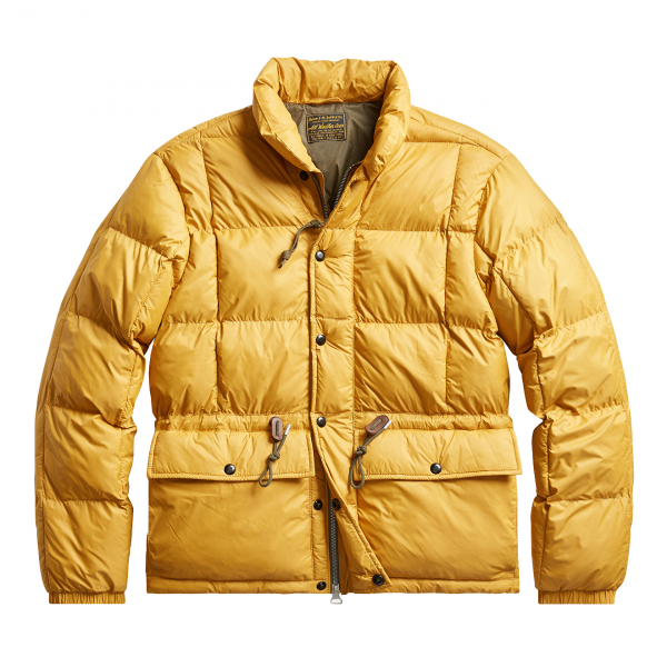 RRL by Ralph Lauren Ultra Light Quilted Jacket Yellow Gold