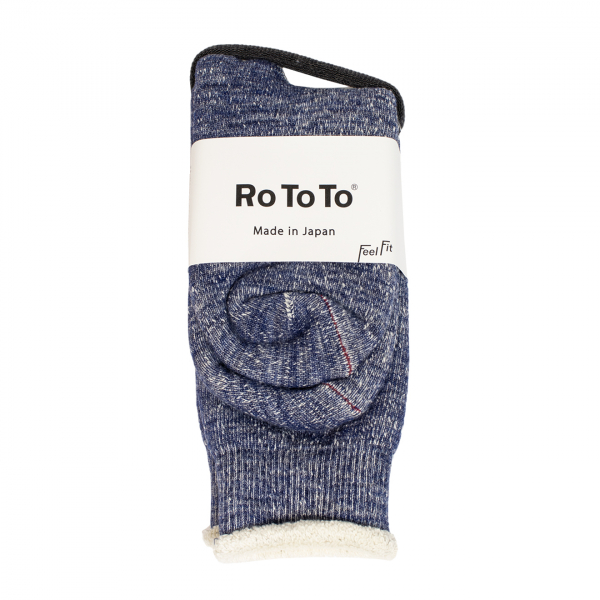 RoToTo Double Face Socks Deep Ocean