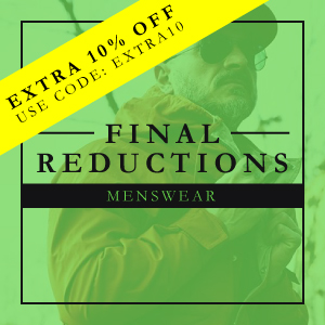 Final Reductions on Menswear