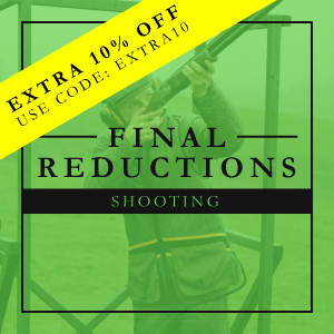 Final Reductions on Shooting Clothing and Accessories