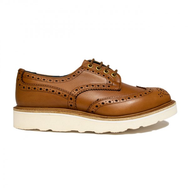Trickers Bourton Gold MC Brogues