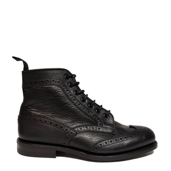 Trickers Adstone Two Tone Brogue Black / Brown