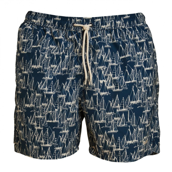 Barbour Boat Swim Shorts Navy