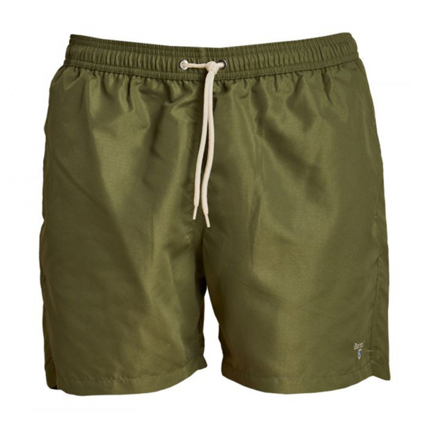 "Barbour Logo 5"" Swim Shorts Olive"