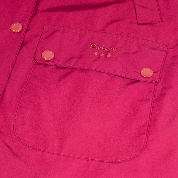 Barbour Womens Brisk Jacket Deep Pink