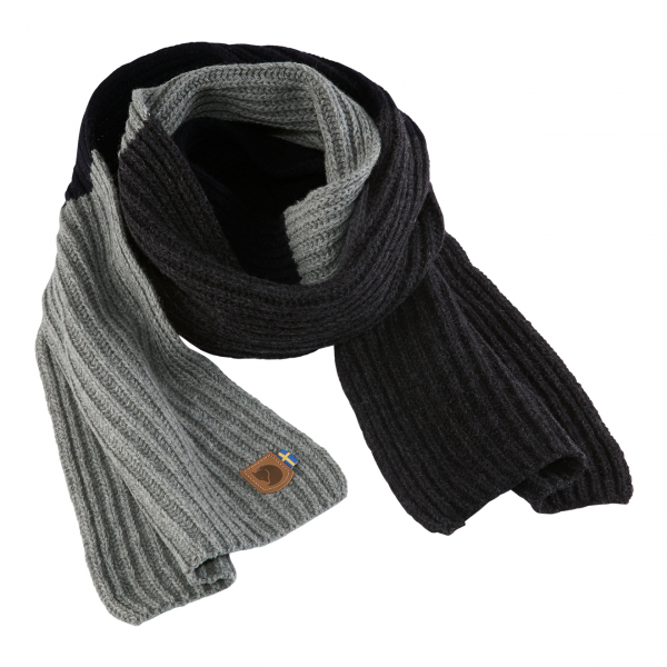 Fjallraven Re-Wool Scarf Dark Navy
