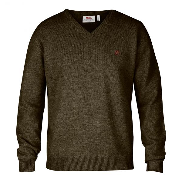 Fjallraven Shepparton Sweater Dark Olive
